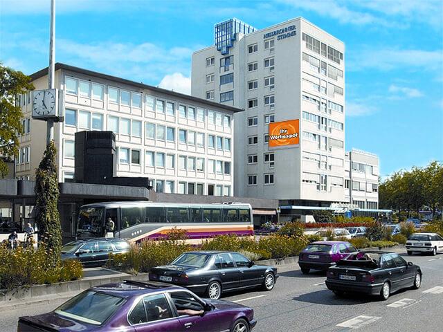 Heilbronn Videoboard am Medienhaus