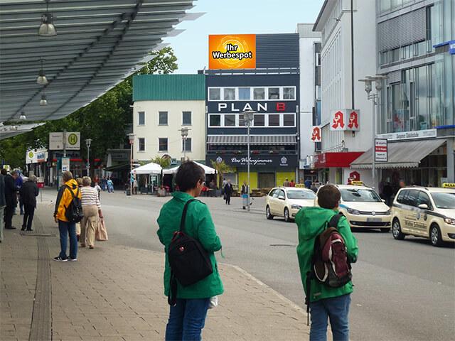 LED Werbefläche in Siegen