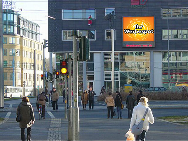 Video Boards Werbung in Chemnitz