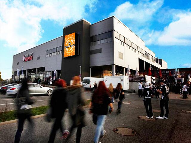 Video Werbefläche Bamberg