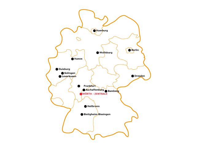 Standorte Videoboards Deutschland